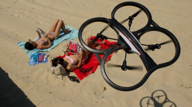 Drones and Tourists