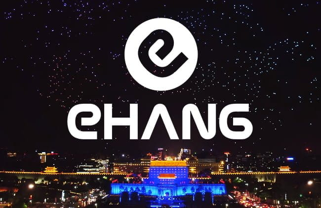 EHang Breaks World Record by Flying 1,374 LED-Illuminated Drones Simultaneously