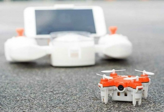 Skeye Nano 2: The World's Smallest Camera Drone