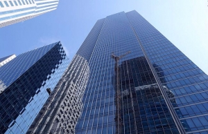 Drone Crashes Outside Millennium Tower