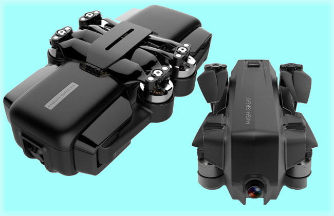 HighGreat Shows Off New Drones at CES 2018