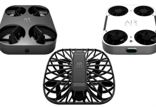 AirSelfie Camera Drones Draw Attention at CES 2019