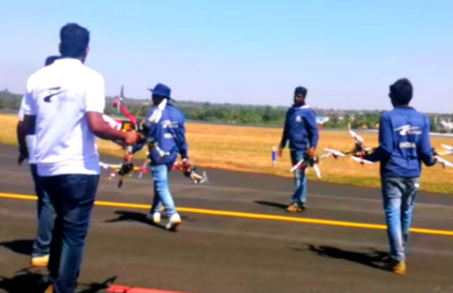 The Olympic of Drones: Drone Pilots Impress at Aero India 2019