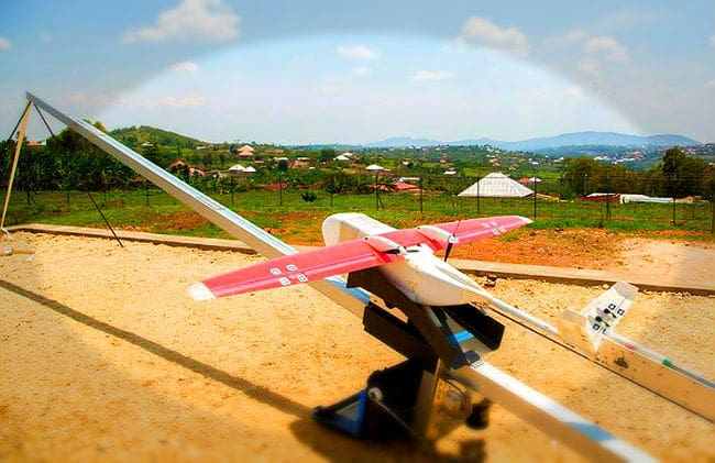 Medical Delivery Drones Rescue Africa from 'Diseases of Poverty'