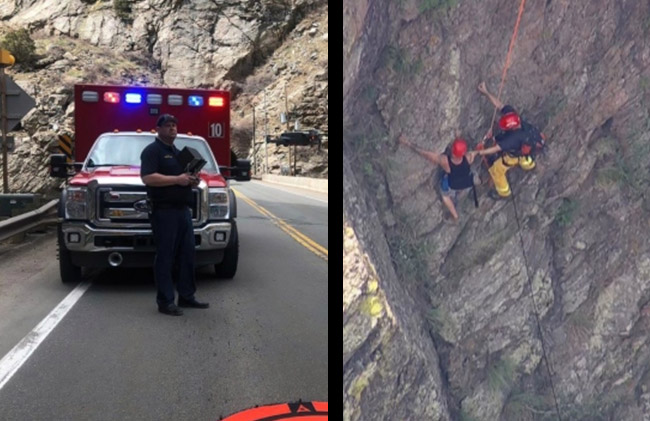 Drone Helps Rescue Injured Hiker at Clear Creek Canyon