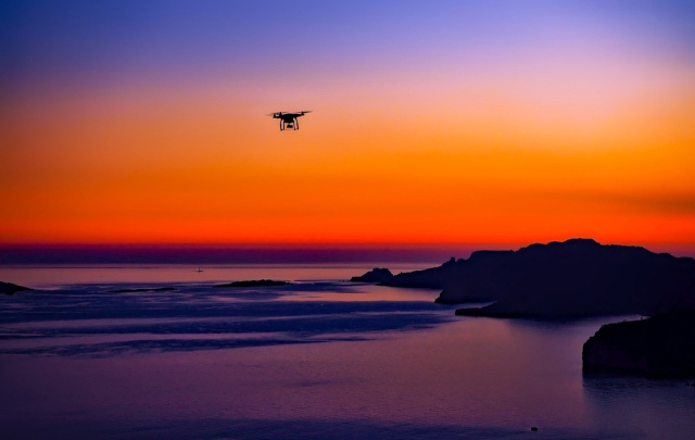 Drone on Sunsets