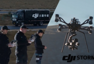 DJI STORM Comes with Its Own Van and Crew