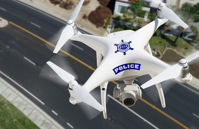 Police Departments Have Been Using Drones for These Reasons